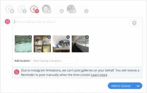 Instagram API Limitation on Galleries